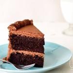 Cake Therapy choc cake choc frost