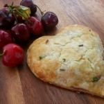Cherry Turnover w Jalapenos in a Lavendar Crust