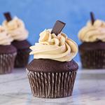 Chocolate Mocha Buttercream Cupcakes