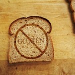 No gluten bread sign