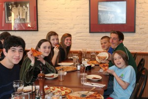 Teen Pizza Party 3-9-13