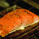 maple soy salmon